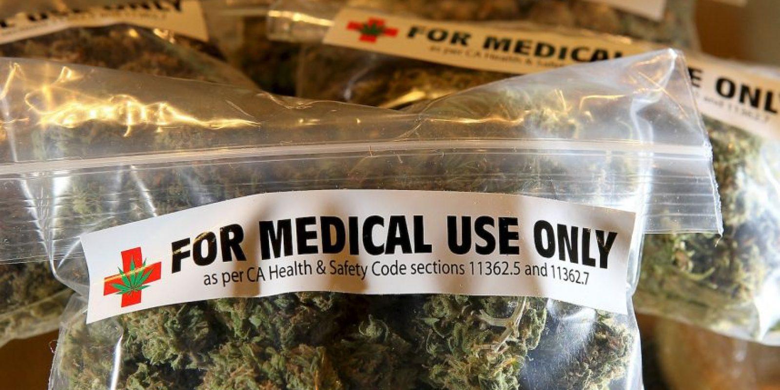 En Estados Unidos el consumo de la marihuana se ha aceptado únicamente para uso médico en algunos estados. Foto:Getty Images