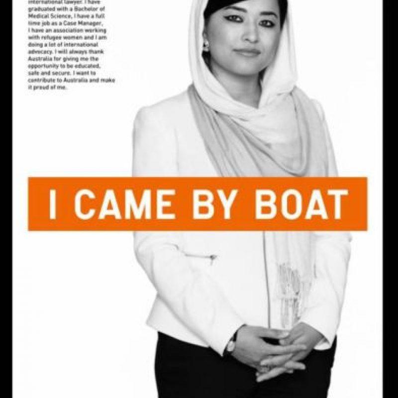 La creadora quiere expandirla por el país. Foto:chuffed.org/i-came-by-boat
