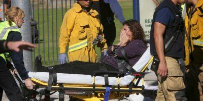 Uno de los heridos fue Kevin Ortiz, quien fue disparado en tres ocasiones. Foto:AP