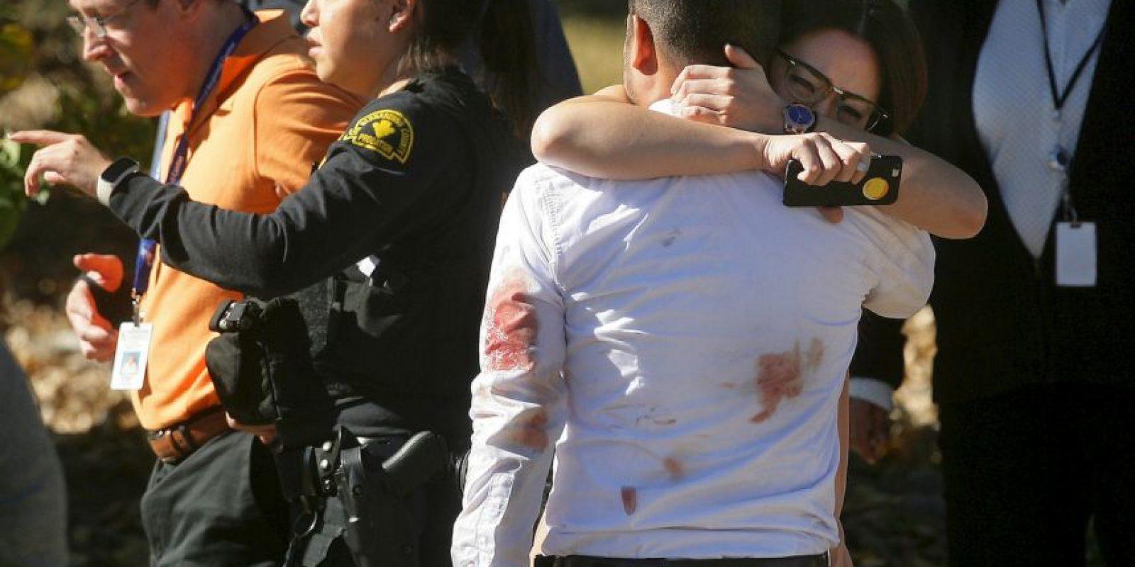 3 de diciembre- San Bernardino, California Foto:AP