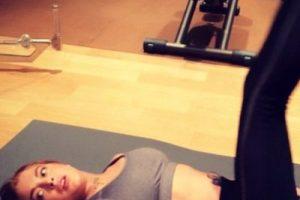Lohan es dueña de una delgada silueta. Foto:vía instagram.com/lindsaylohan