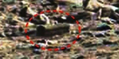 """Piedra con forma de ataúd. De acuerdo al sitio """"MundoMisterioso.net"""", esta supuesta caja se encontró en enero de 2015"""