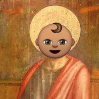 Ahora muchos identifican a Saint con este emoji de un bebé. Foto:vía twitter.com
