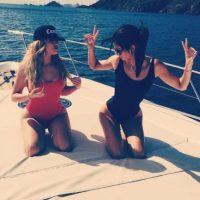 Junto a su hermana, Kendall Jenner, su objetivo era tener un momento de relajación Foto:vía instagram.com/khloekardashian