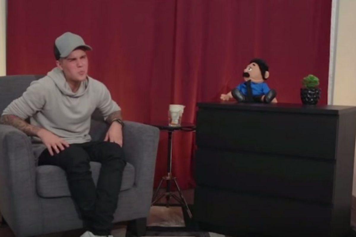 """5. Cuando imitó a Robert DeNiro en el canal de YouTube """"El Diego Show"""" Foto:YouTube/ElDiegoShow"""