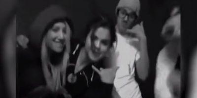 "7. Cuando se viralizó un video de Selena Gómez, Ashley Tisdale y Justin Bieber cantando ""Call Me Maybe"" Foto:Twitter"