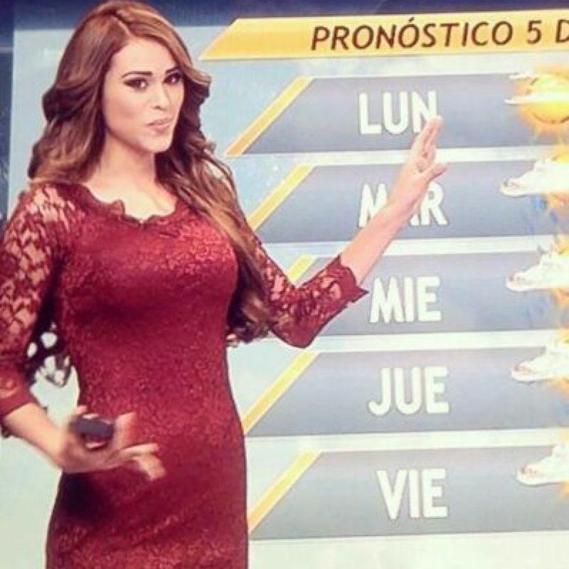 Pero el gran sueño de Yanet es ser una modelo. Foto:vía facebook.com/yanetgarciapaginaoficial