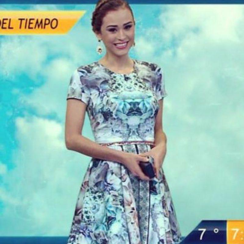 A sus 19 años ya era una de las bellezas del canal de televisión Televisa Monterrey. Foto:vía facebook.com/yanetgarciapaginaoficial