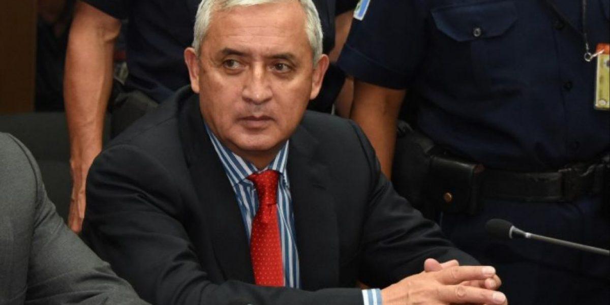 Ex presidente Otto Pérez tendrá comodidades autorizadas por un juez