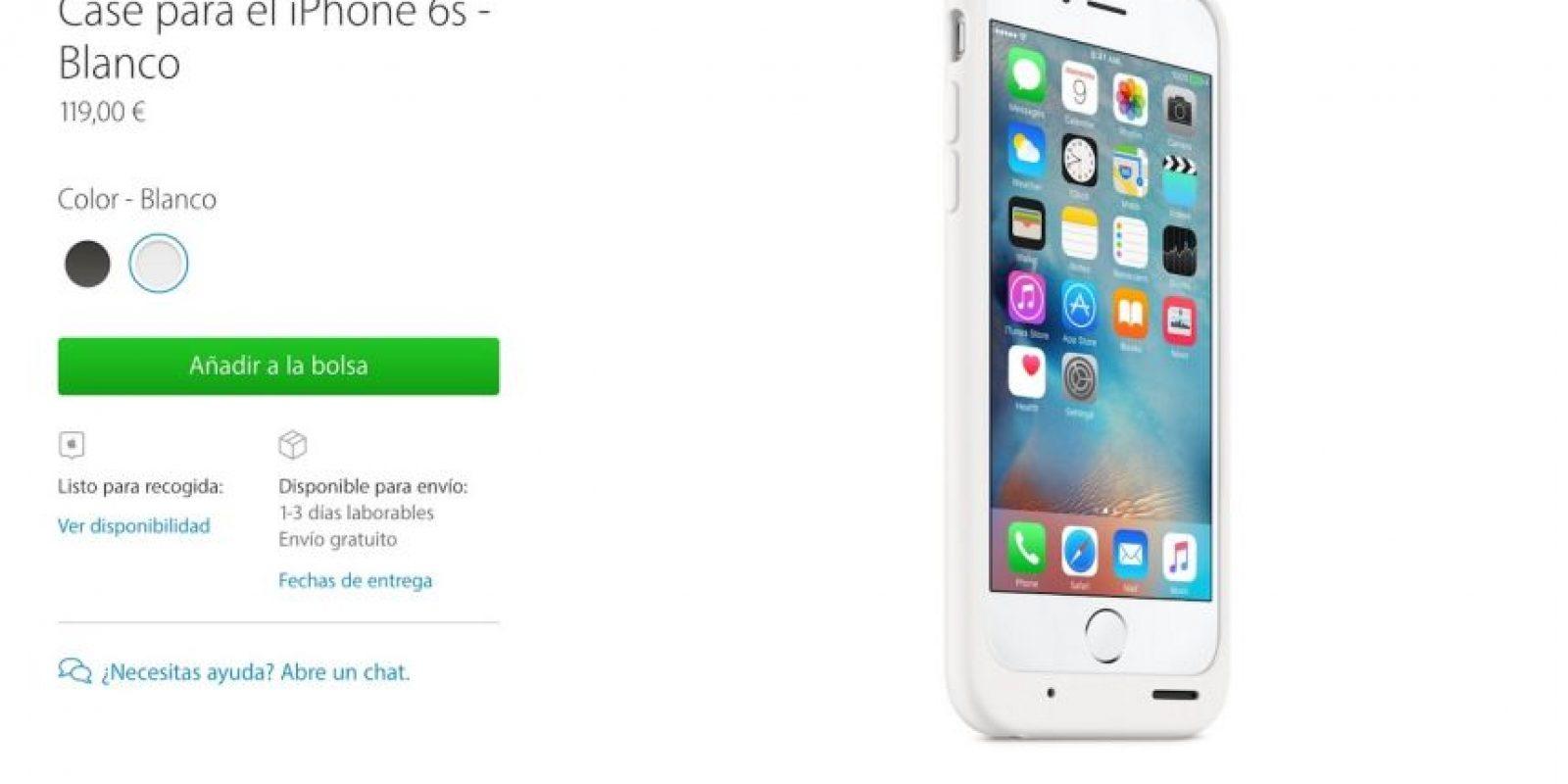 Ahora tendrán hasta 25 horas de batería extra en el iPhone. Foto:Apple