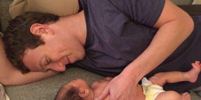 Mark Zuckerberg con su hija Max. Foto:facebook.com/zuck