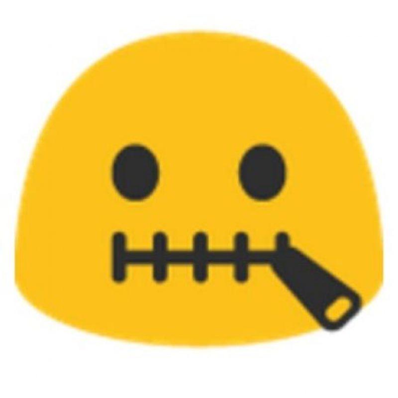 Boca cerrada con cinturón. Foto:vía emojipedia.org