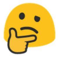 Pensativo. Foto:vía emojipedia.org
