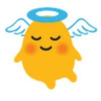 Angelito. Foto:vía emojipedia.org