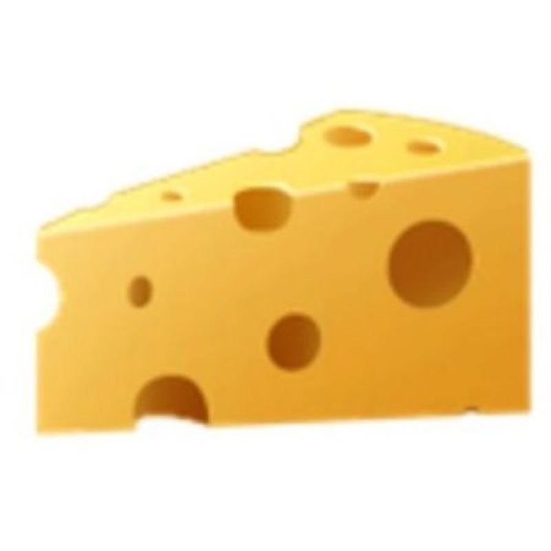Cuarto de queso. Foto:vía emojipedia.org