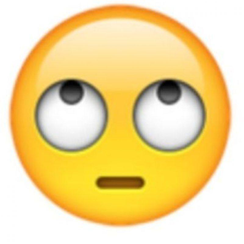 Ojos perdidos. Foto:vía emojipedia.org