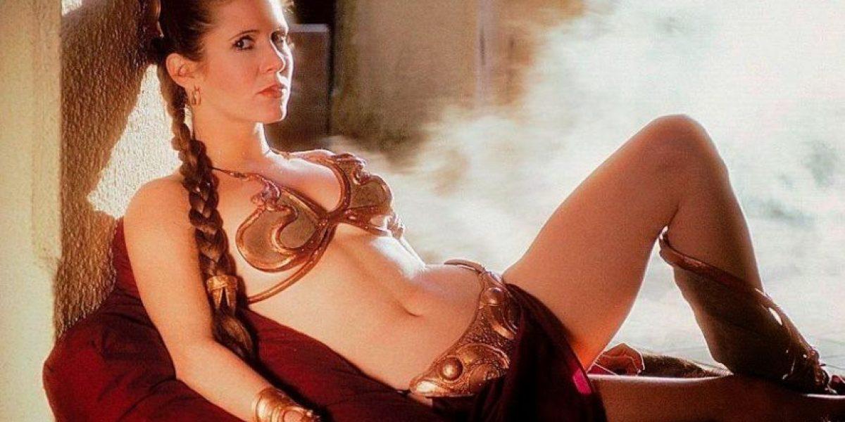 La princesa Leia responde y contraataca por la controversia del famoso bikini de esclava