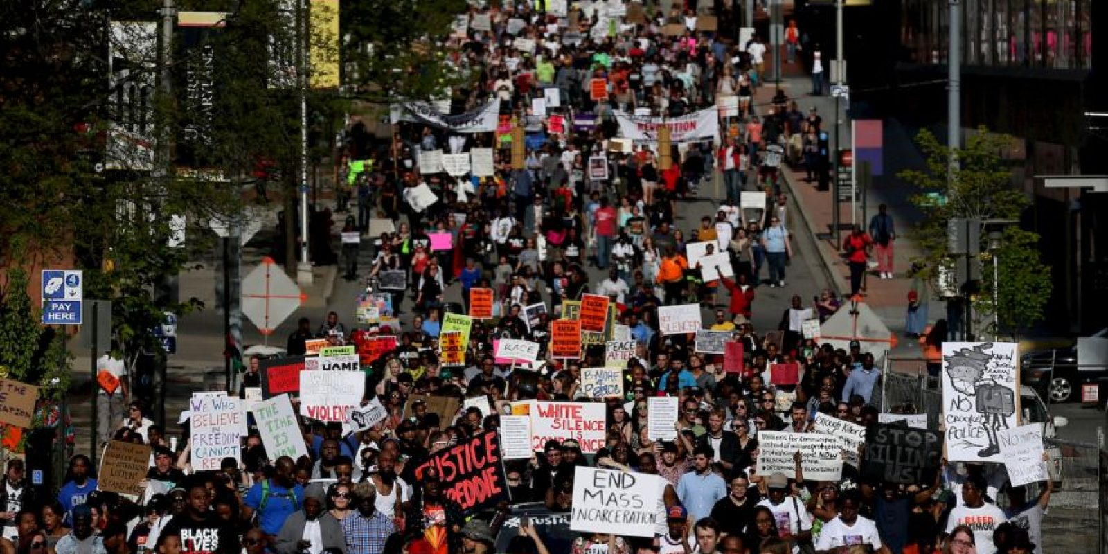 Activistas del movimiento Black Lives Matter. Foto: Getty Images
