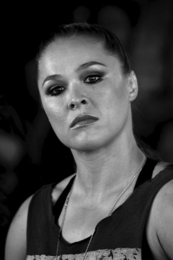 Tras la derrota, Ronda Rousey prefirió guardar silencio. Foto:Getty Images