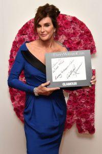 La revista Glamour le dio el premio de la Mujer del Año. Foto:Getty Images