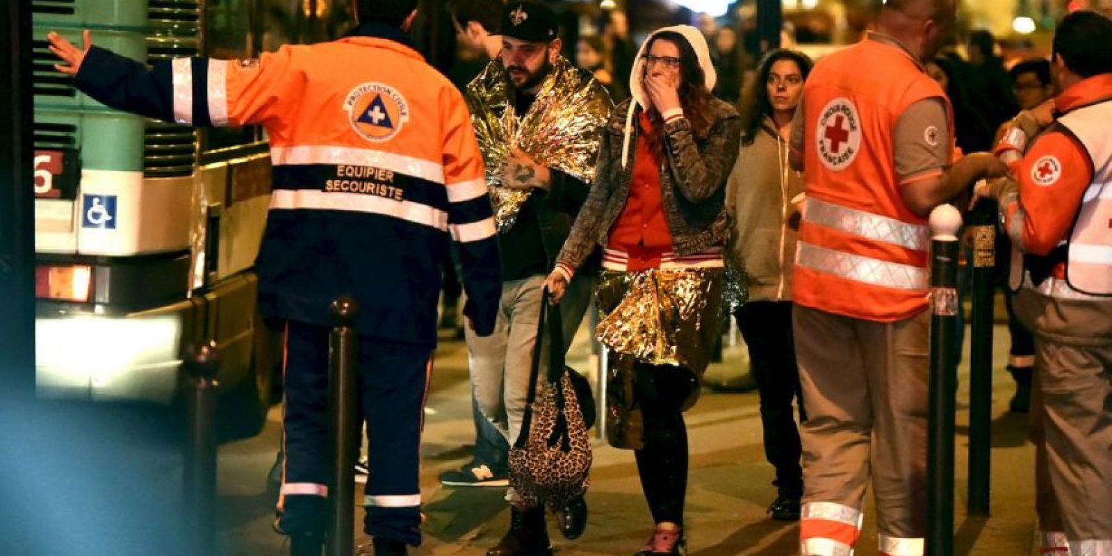 Más de 300 resultaron heridas en los ataques que se atribuyó el Estado Islámico. Foto:Getty Images