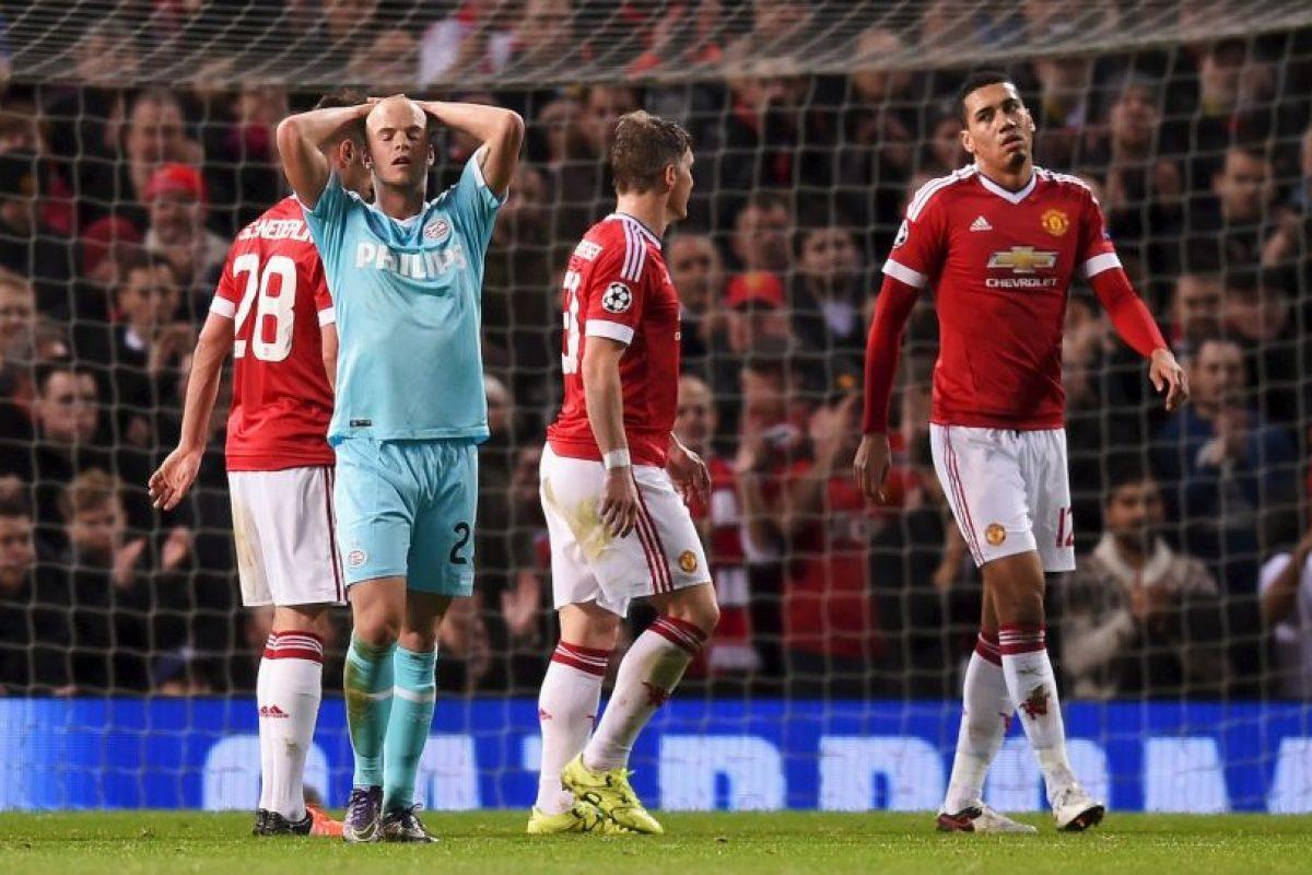 En su último partido empataron sin goles frente al PSV. Foto:Getty Images