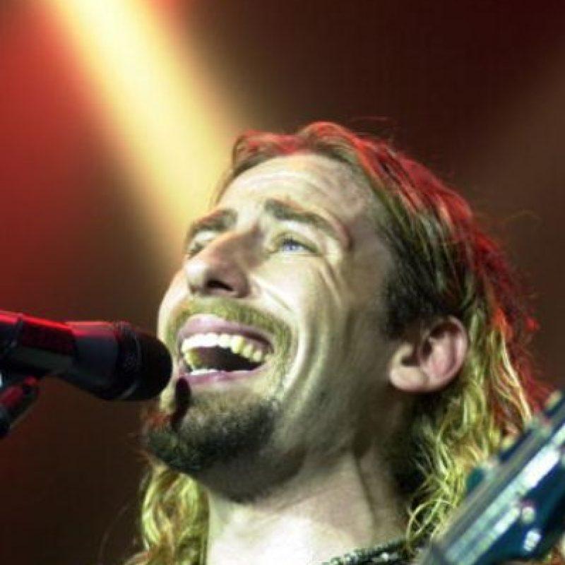 Chad Kroeger fundó a Nickelback en 1995. Foto:vía Getty Images