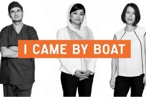 Su objetivo es cambiar la forma de verlos. Foto:chuffed.org/i-came-by-boat
