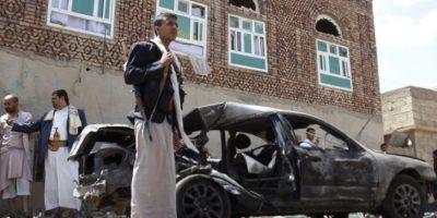 20 de marzo- Se registraron cuatro bombardeos en mezquitas de Yemen. Foto:AP