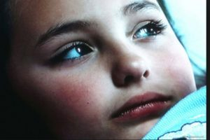 """Ahí interpretó a """"Linda"""", una niña martirizada por su madre anoréxica para perder peso. Foto:vía Altavista Films"""