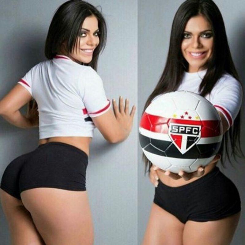 """Es modelo desde los 15 años y ha sido comparada con la modelo Daniela Cicarelli, quien fue novia de Ronaldo, el """"Fenómeno"""". Foto:Vía instagram.com/suzycortezoficial"""