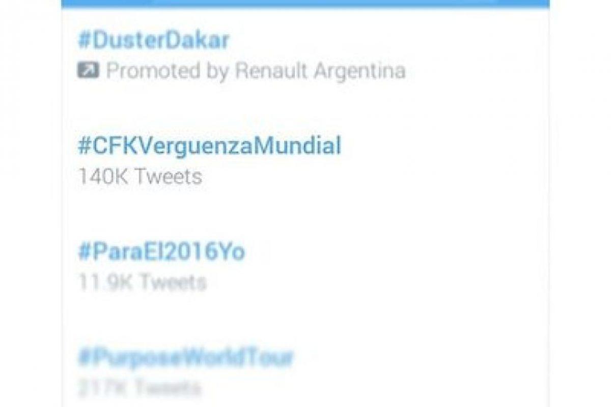 #CFKVerguenzaMundial y #GraciasCristina: Así despiden a la mandataria en redes sociales Foto:Instagram.com
