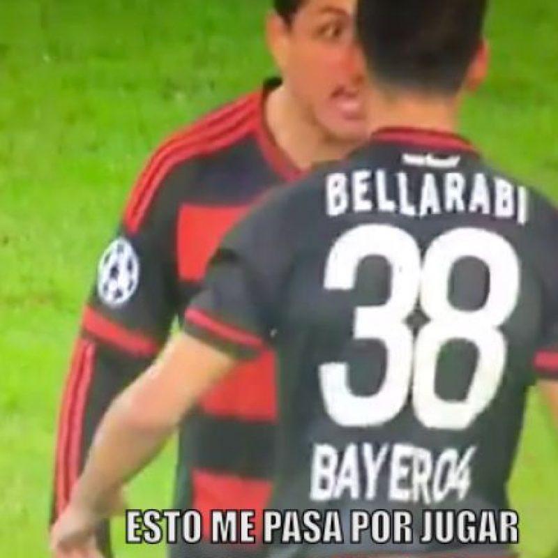 """Bueno, """"Chichadios"""" podrá seguir mostrando su magia en la Europa League. Foto:Vía twitter.com"""