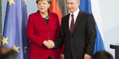 Además de las negociaciones con el presidente Vladimir Putin por el conflicto con Ucrania Foto:AFP