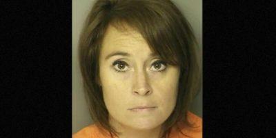 Ann Hope profesora de Carolina del Sur Carole fue arrestada por tener relaciones con un exestudiante de secundaria Foto: J. Reuben Long Detention Center