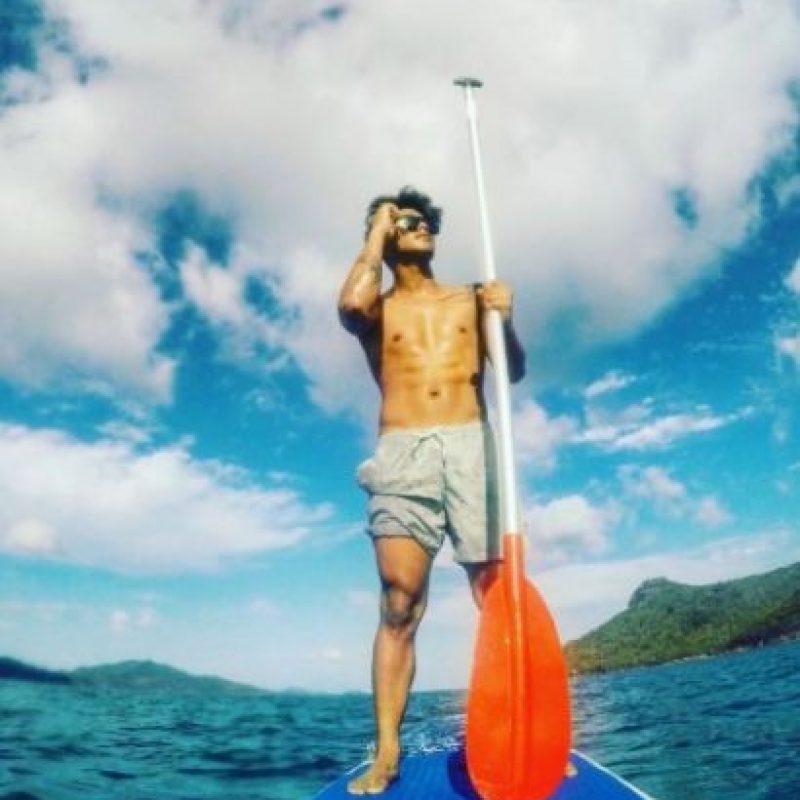 El joven es amante de los deportes extremos como el skae y el surf Foto:vía instagram.com/markvillaver