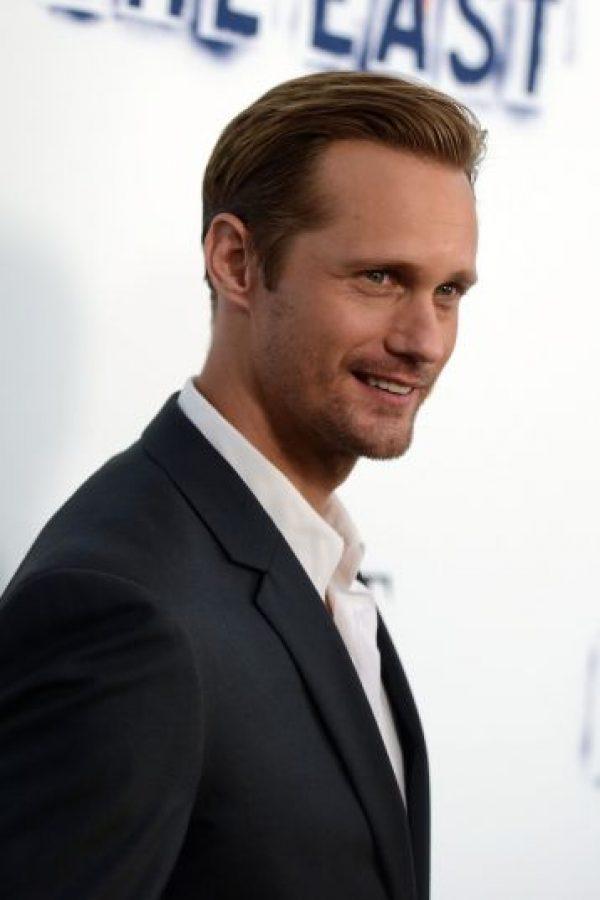 Alexander Skarsgård es originario de Suecia y tiene 39 años. Foto:Getty Images