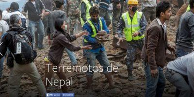 4- Terremotos de Nepal. Foto:vía Facebook.com