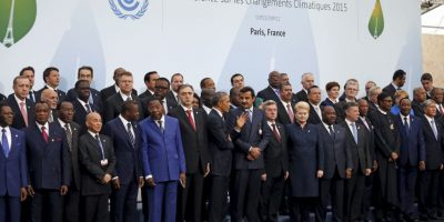Y los líderes de más de 150 naciones Foto:Getty Images
