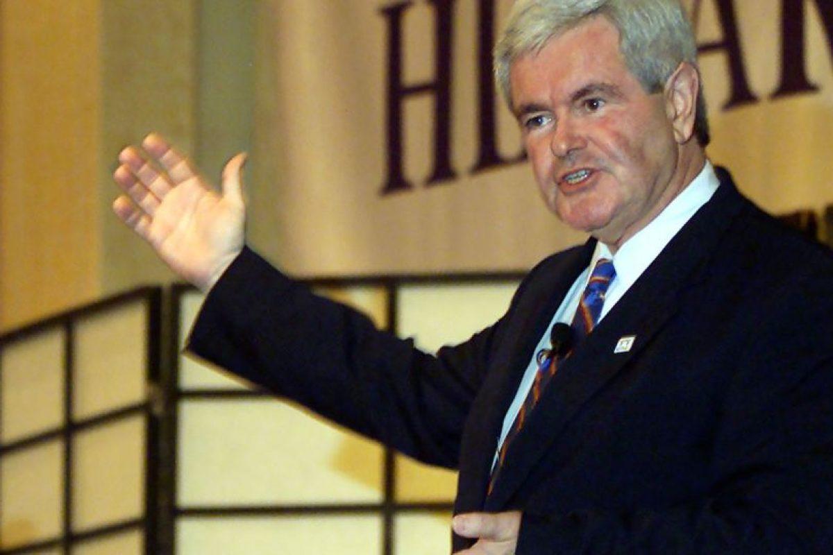 Es responsable de la llamada Revolución Republicana en el Congreso estadounidense, cuando terminaron con 40 años de mayoría demócrata. Foto:Getty Images