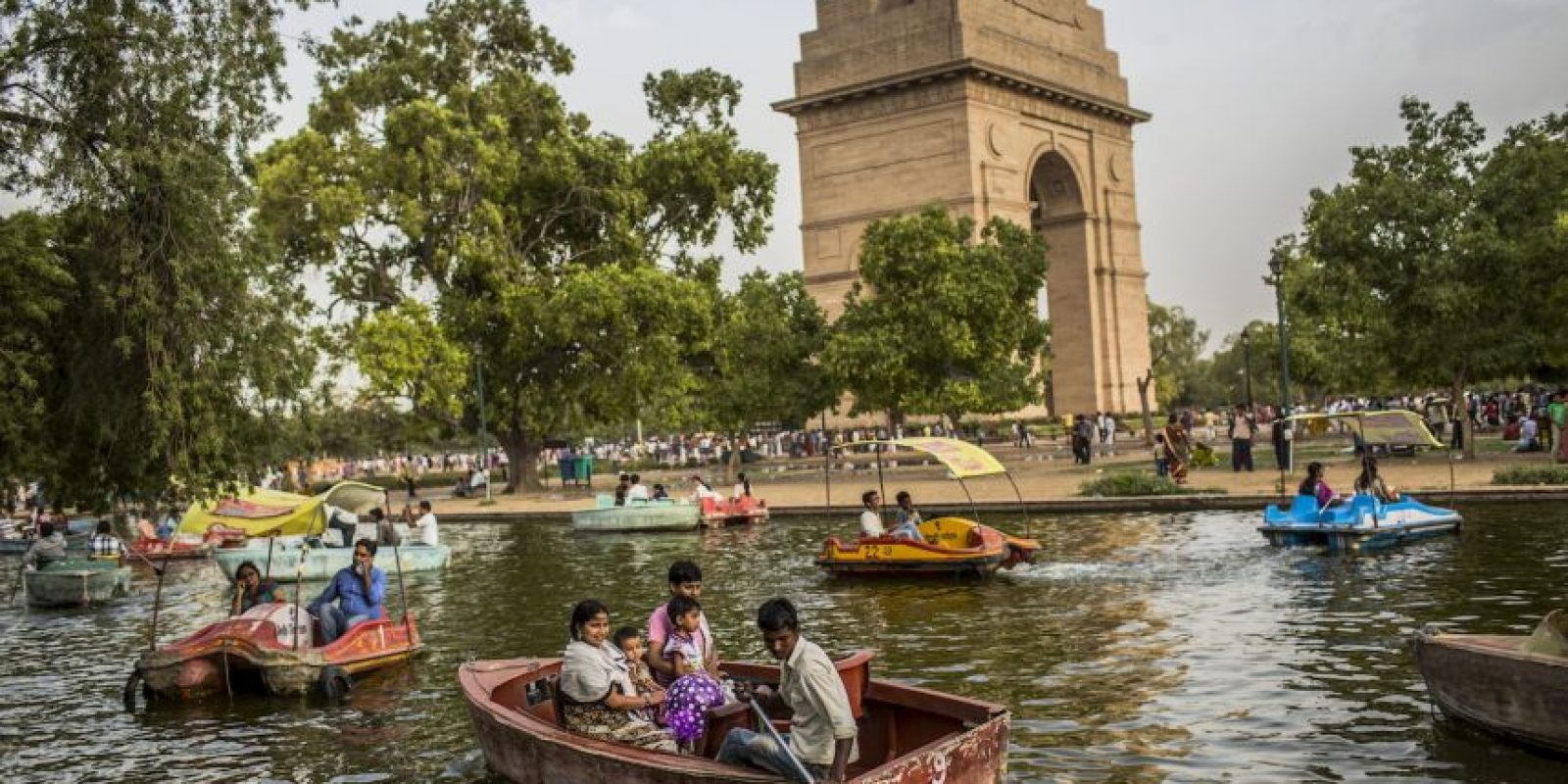 2. Nueva Delhi, India Foto: Getty Images
