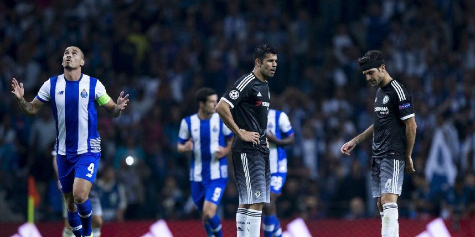 Chelsea es líder del grupo G con 10 puntos (empatado con el Porto), pero si pierde y Dynamo de Kiev vence al Maccabi Tel-Aviv, quedaría fuera de la siguiente fase. Foto:Getty Images