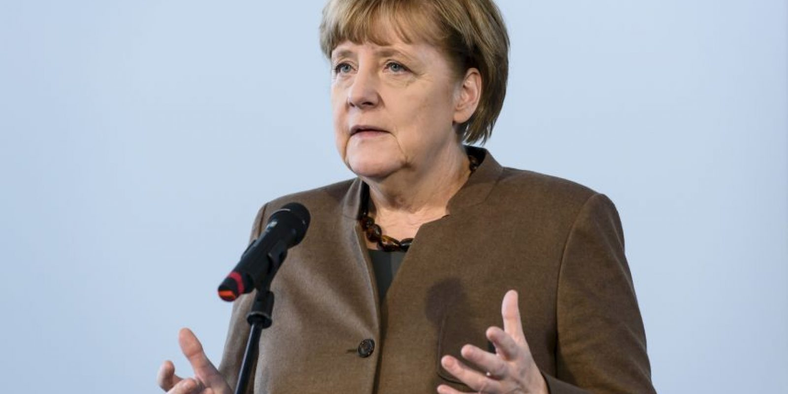 Las fotos que marcaron el 2015 de Angela Merkel Foto: Getty Images