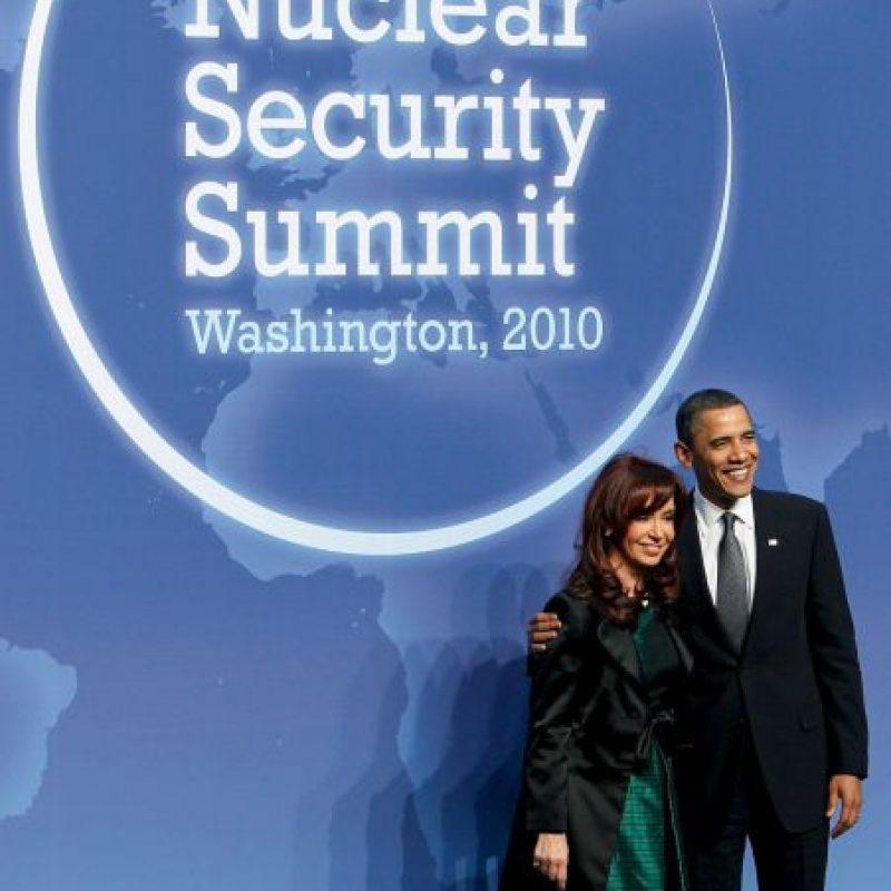 2010, reunión con el presidente Barack Obama Foto:Getty Images