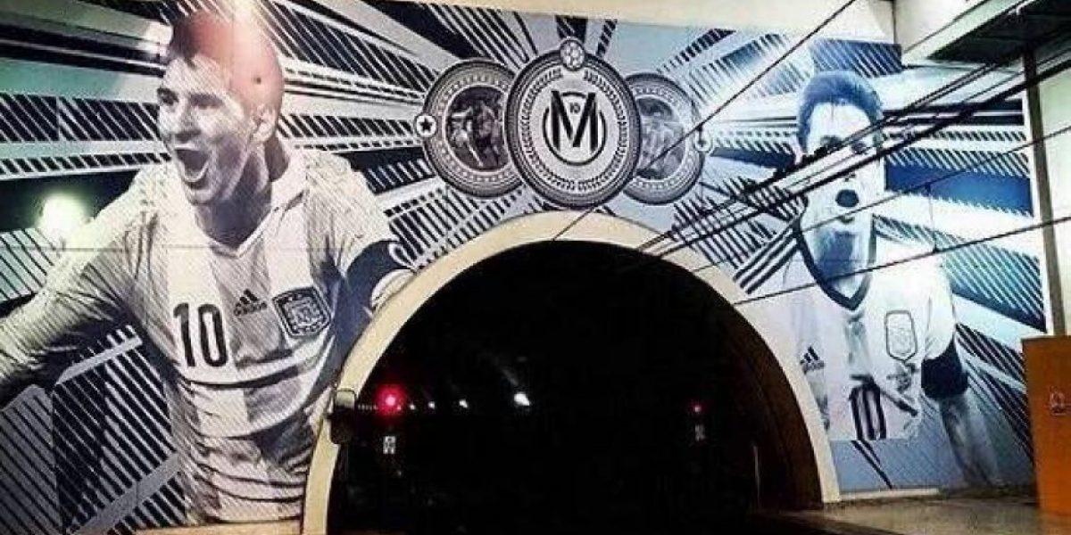 Leo Messi tiene su propia estación de tren, conócela en este video