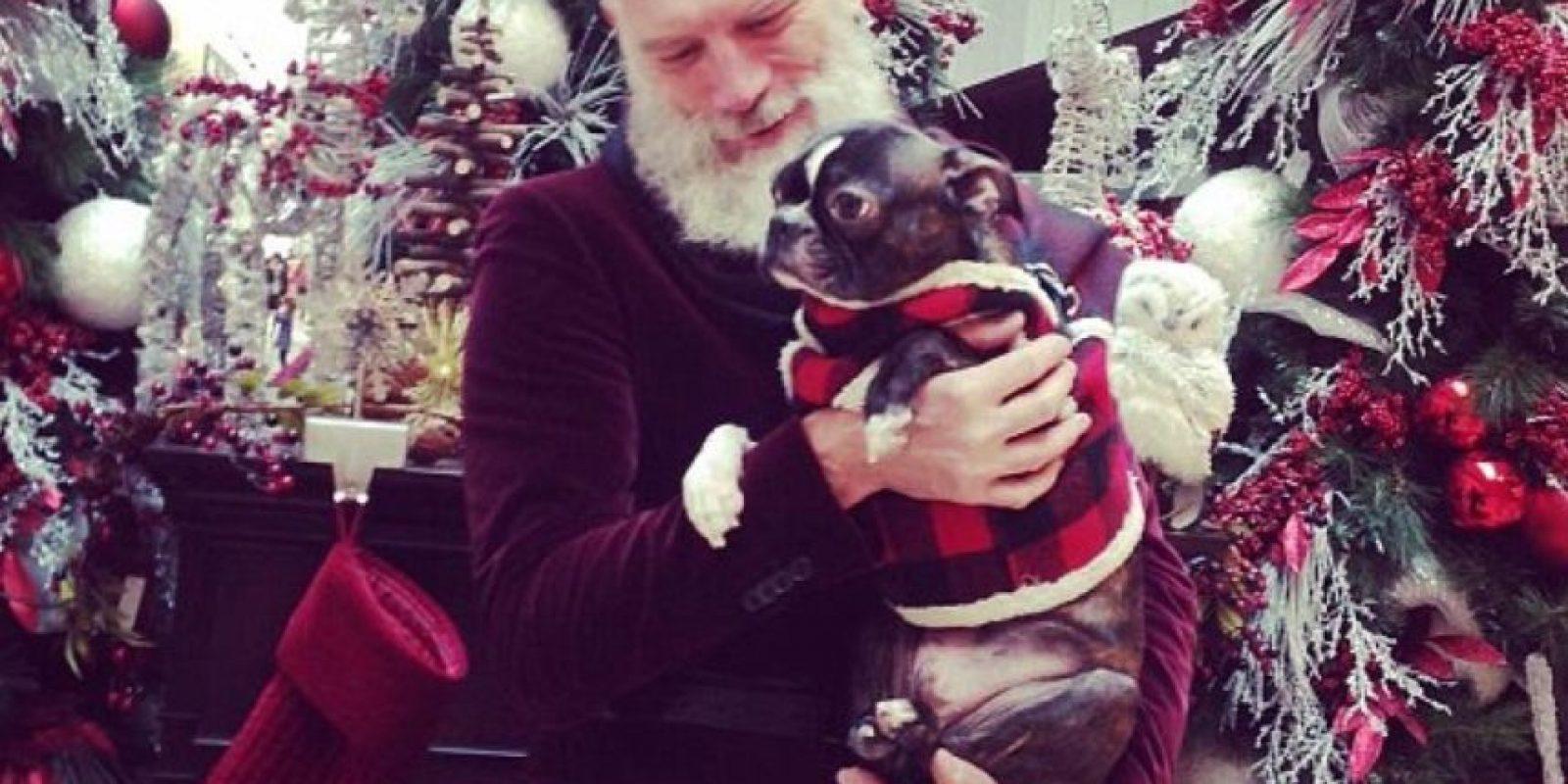 Mason afirma que los niños lo confunden con Santa. Foto:vía Instagram