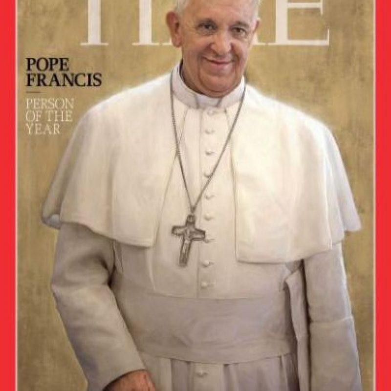 2013- Papa Francisco Foto:Vía Time