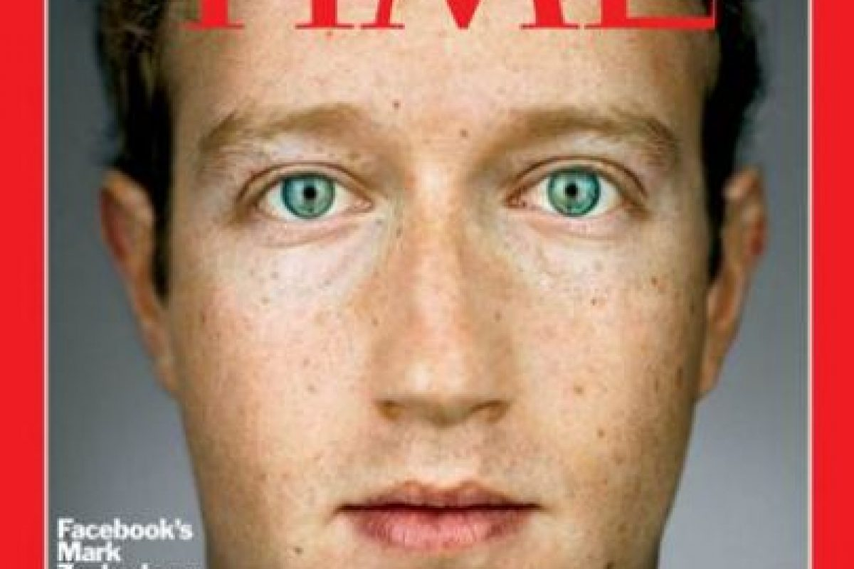 2010- Mark Zuckerberg, fundador de Facebook Foto: Vía Time