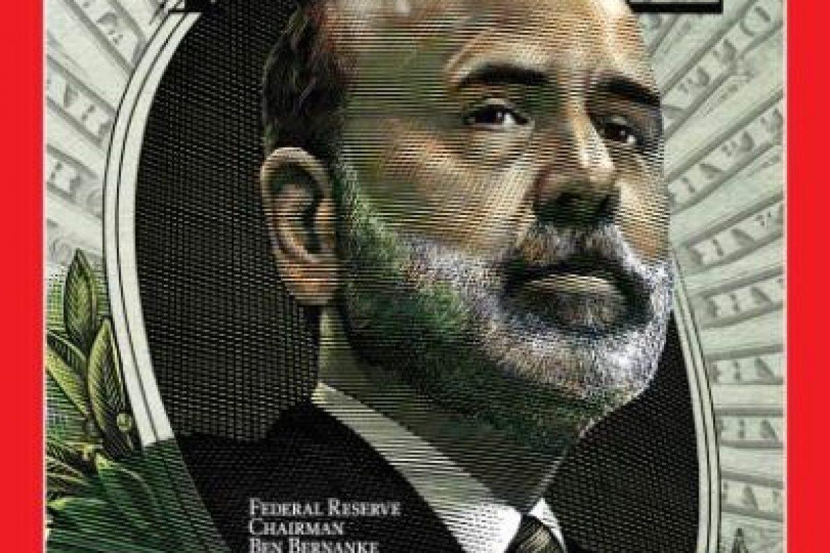 2009- Ben Bernanke, presidente de la Reserva Federal de Estados Unidos Foto:Vía Time