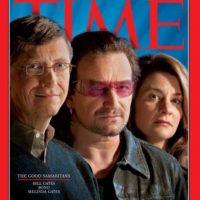 2005: Buenos samaritanos: Bill Gates, Bono y Melinda Gates Foto:Vía Time